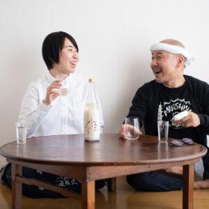 上澄みだけでも、おいしい日本酒でした!