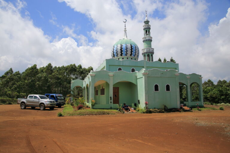 農園内に併設されたイスラム教のモスク。