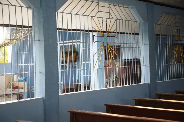 同じく、農園内に併設されたキリスト教の教会。