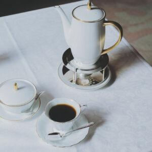 5種の豆をバランスよくブレンドした資生堂パーラー オリジナル ブレンド コーヒー1,000円。