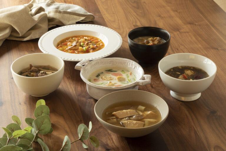 主食スープ(6種)