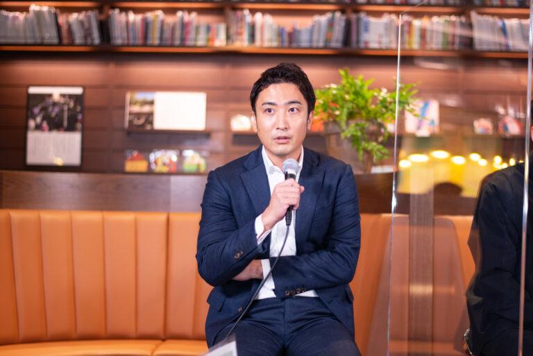 〈FOOD SUPPLY〉の代表取締役・⽵川淳史さん。