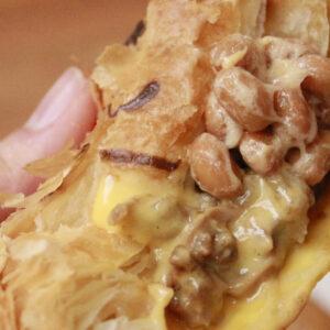 ヘルシーに満腹感アップ!浅草〈Pie face〉のパイを納豆カスタム