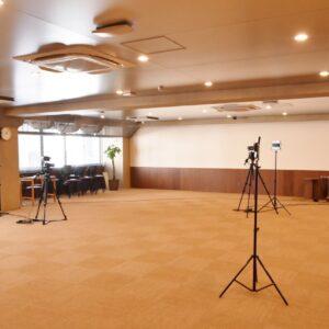 本格的なスタジオスペース。