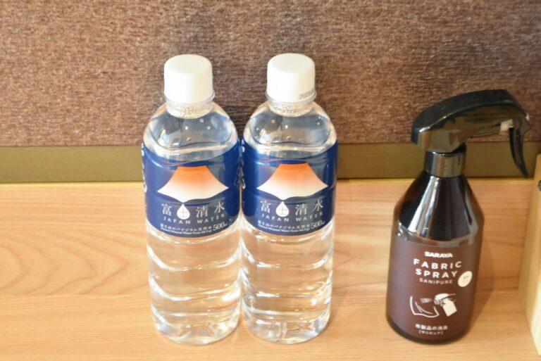 富士山の水も無料。