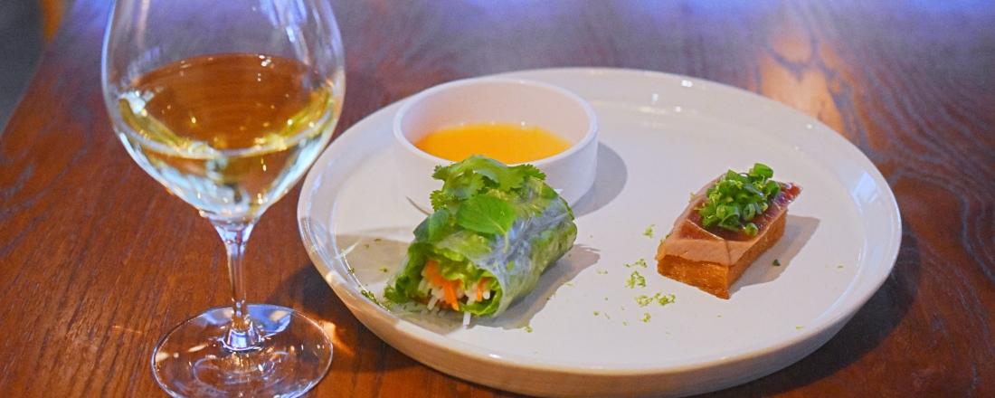 〈THE PIG&THE LADY〉のモダンベトナム料理に合わせた、「ワインペアリングコース」が新登場!