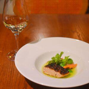 THE PIG&THE LADY_白ワインと魚のグリル