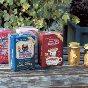 金子さんが手がける「さとまち吉祥はちみつ」とルンビニ茶園の新鮮な茶葉は相性抜群。実は個包装のティーバッグの方が鮮度を保ちやすく、良い状態で届けられるため、ティーバッグ商品がおすすめ。