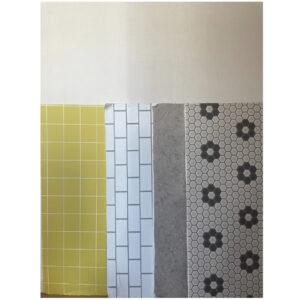 壁紙パネルは全部で8パターン。