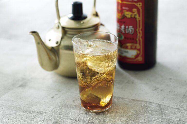 「紹興酒」(ロック・ストレート・ハイボール)各430円。