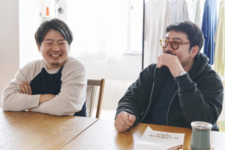 ファウンダーの澤木雄太郎さん(左)と、ディレクターの小池勇太さん(右)。