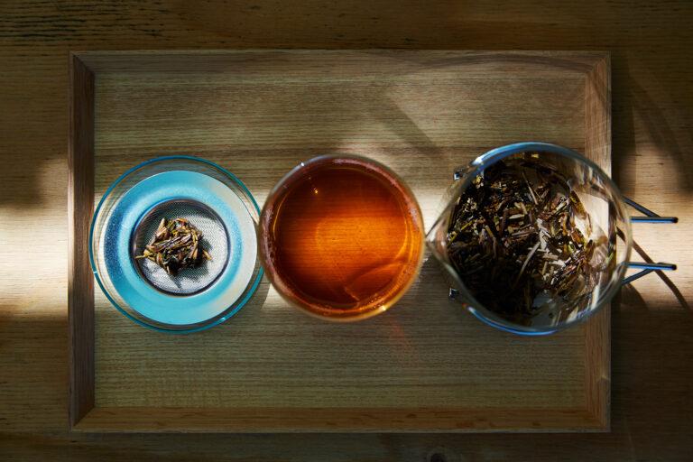 「Satén japanese tea/砂炒りほうじ茶」700円