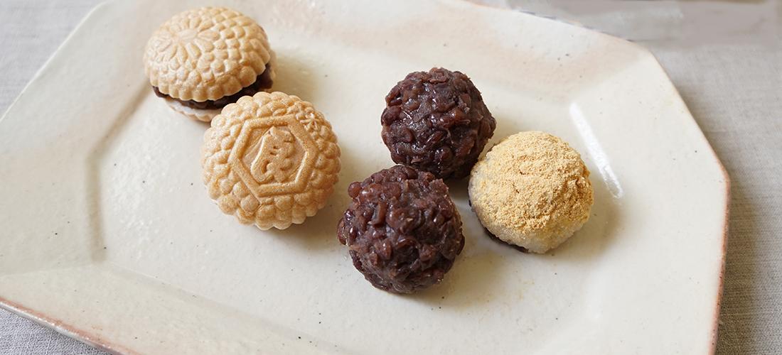 京都〈吉村和菓子店〉の「手作りあんこセット」でおはぎ作り。