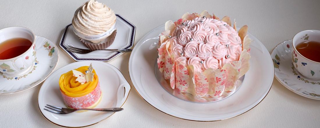 母の日のプレゼントに!花束みたいな〈グランド ハイアット 東京〉の限定ケーキ。
