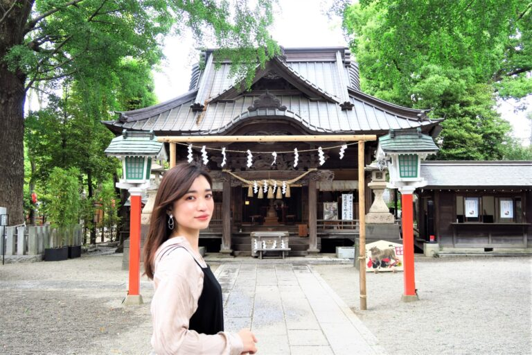 〈田無(たなし)神社〉