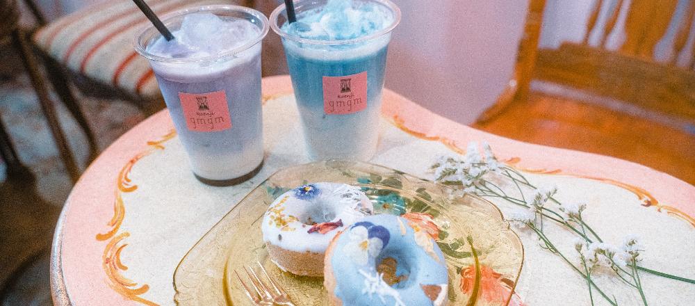 テーマは花×食。高円寺〈gmgm〉のカラダにも優しいフラワー焼きドーナツ