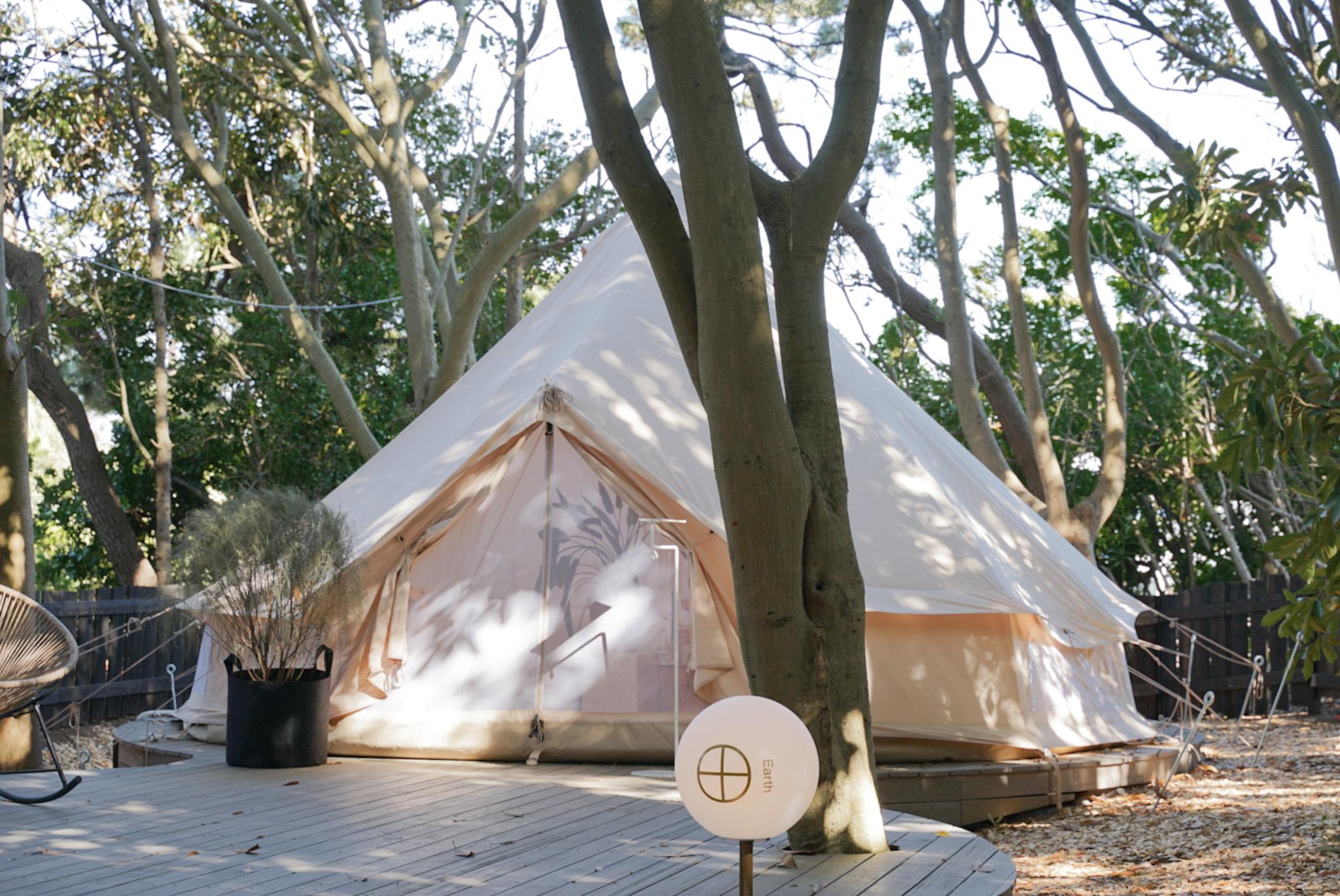 千葉・稲毛海浜公園がリニューアル!グランピング施設〈small planet CAMP & GRILL〉が誕生。