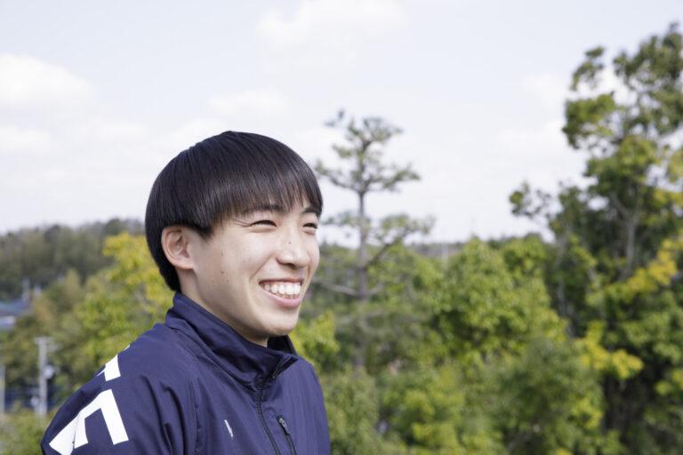 取材時、終始スマイル満開の三浦選手。サラサラの髪をなびかせて走る姿もさわやかでした。