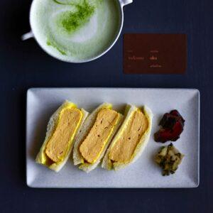「大栄製玉 だし巻き卵サンドイッチ」990円