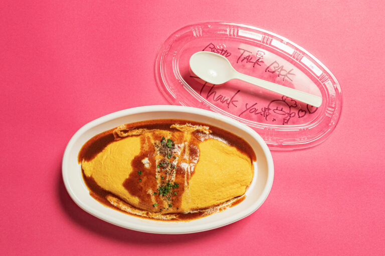 「チキンライスのオムライス」1,000円(税込)。とろりと濃厚な鳳凰卵を使用。