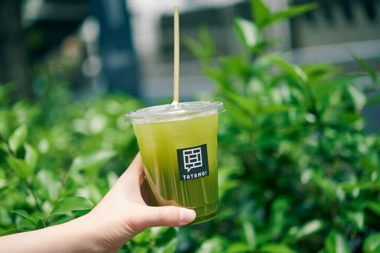 「煎茶」(アイス、レギュラーサイズ)400円