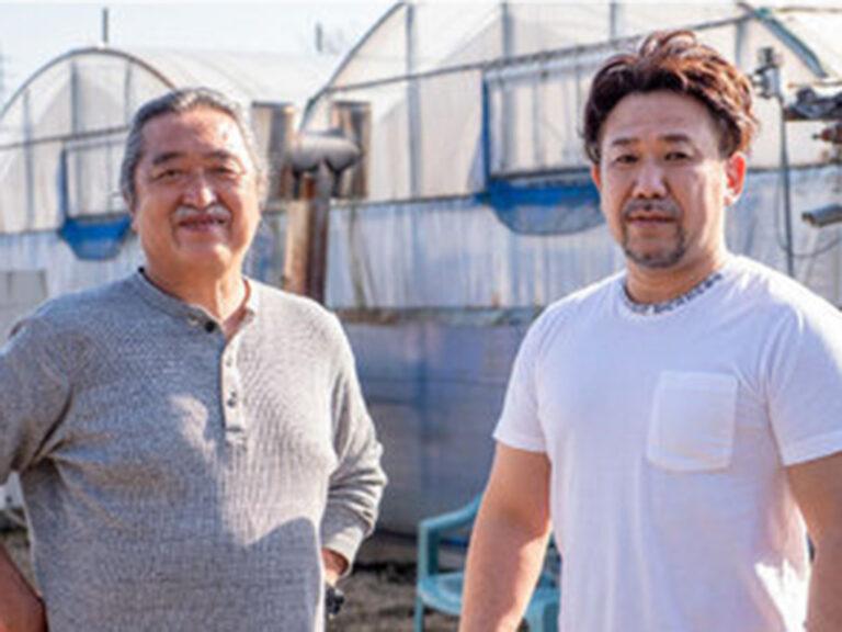 (左から)木村幸司氏と長谷川稔氏。
