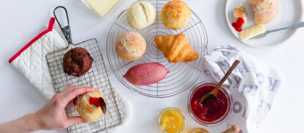 <span>いよいよ完成です!モデルのヨンアさんとのコラボパンのコラボプロジェクト〜第5回〜</span> 可愛くておいしくて。みんなが幸せになるパン、できました。