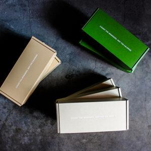 パッケージ類も以前に増してセンスよくリニューアル。