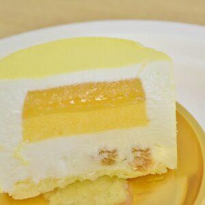 ほどよい酸味と甘みのバランスが絶妙な2層のジュレ。