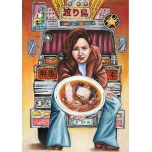 【アートの円卓】昭和のムードを描くアーティスト・吉岡里奈さんの展示『ドラマチック!』