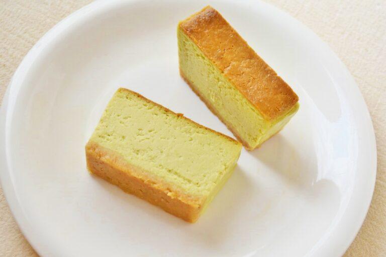 「ユーグレナチーズケーキ」600円。