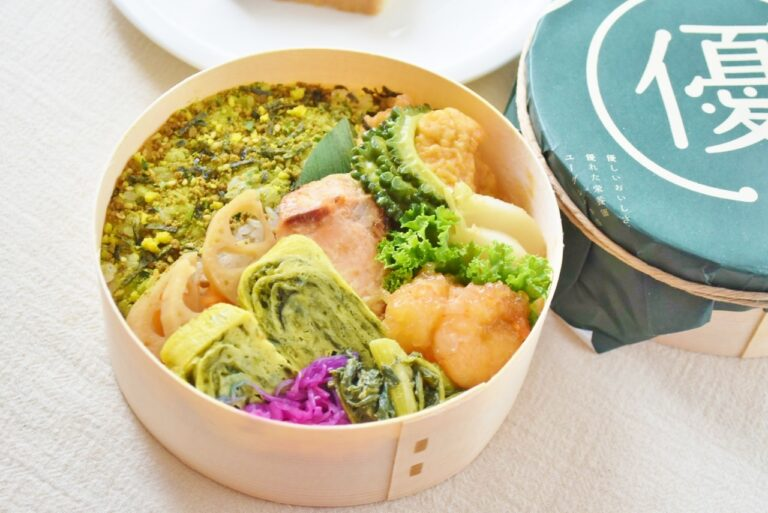 緑黄色野菜の色で彩りもよく、不思議と食欲増進!