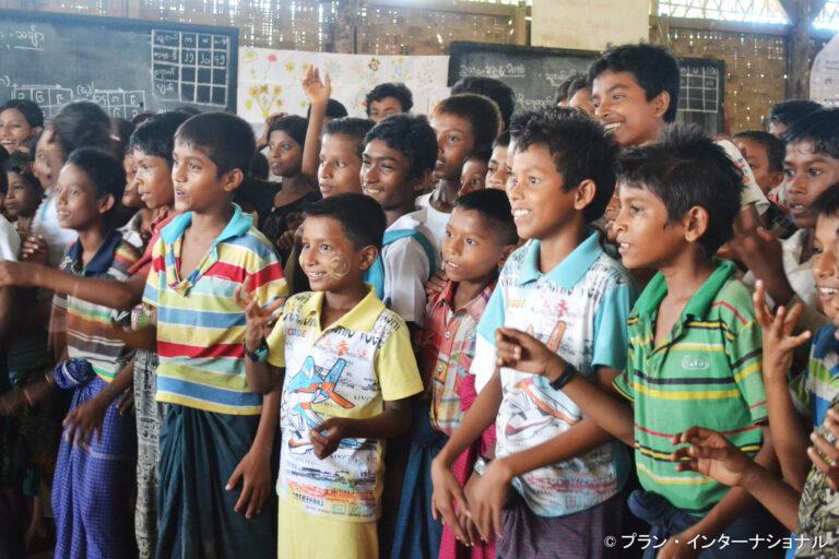 「ロヒンギャの子どもの保護と教育」プロジェクト