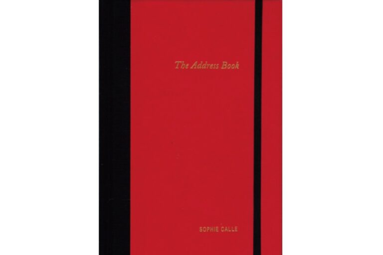 『The Address Book』ソフィ・カル