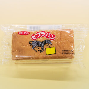 「ゼブラパン」195円。