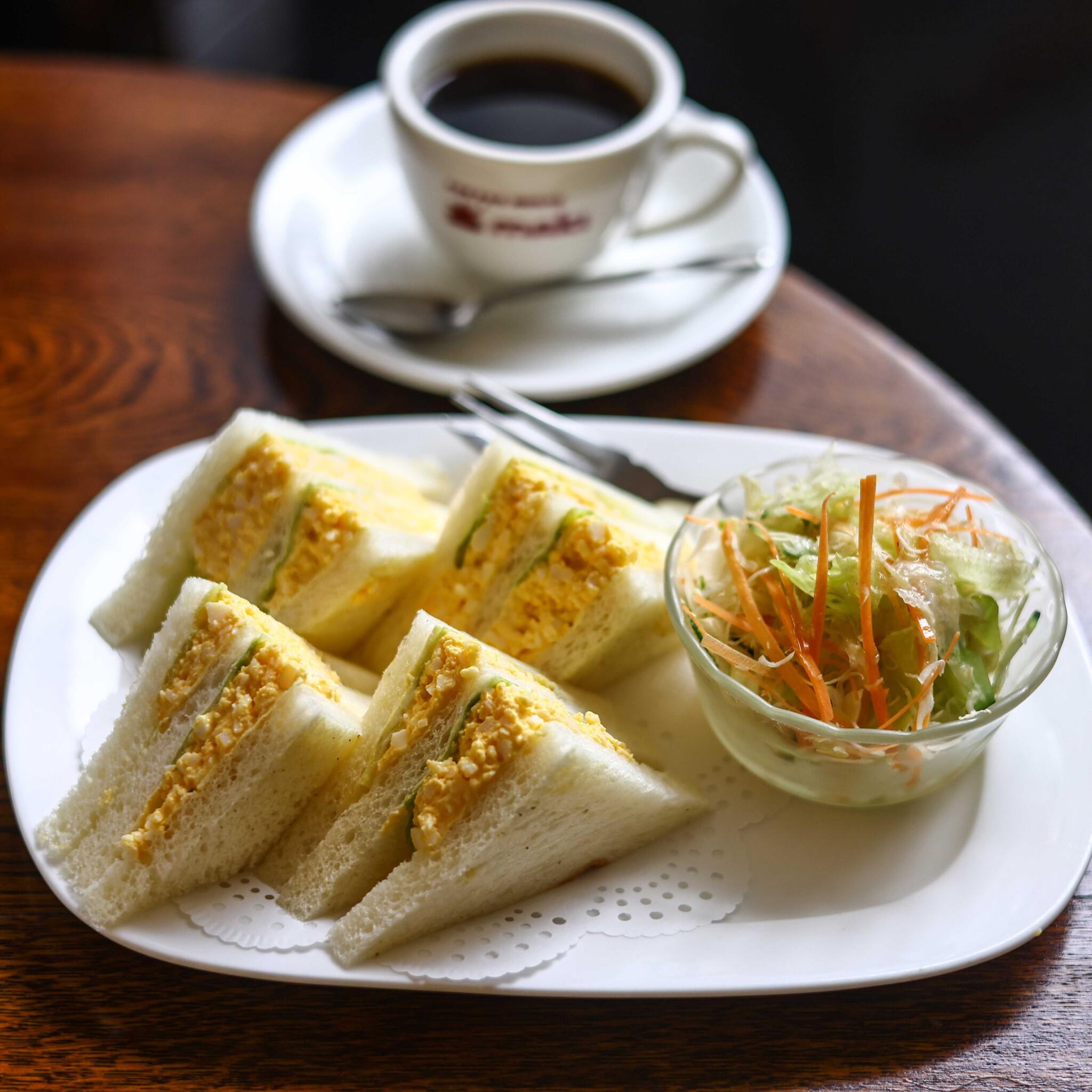 【京都】老舗喫茶店〈COFFEE HOUSE maki〉で、こだわりの朝食と淹れたて珈琲を。