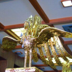 元々、鳳凰のお神輿は「鳳輦(ほうれん)」という天皇のための乗り物でもあったのだとか。