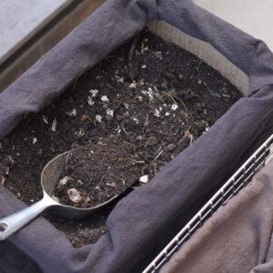 前日に入れた生ゴミも次の日にはサラサラに!