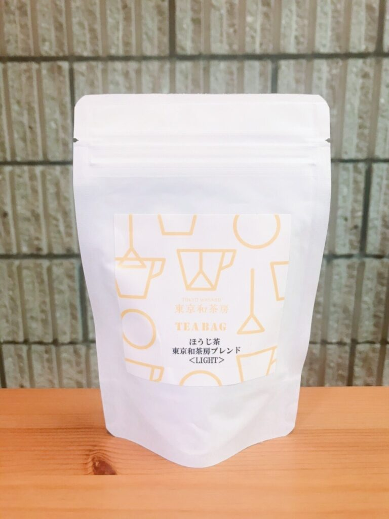 「東京和茶房ブレンド ほうじ茶〈LIGHT ROAST〉」ティーバッグ5個 540円