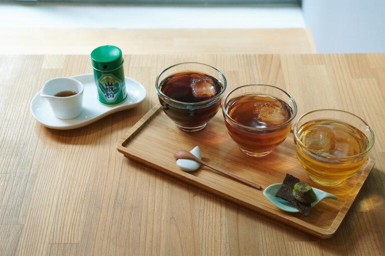 「ほうじ茶3煎 飲みくらべセット」924円