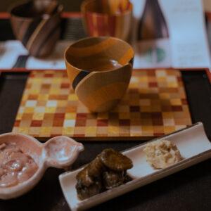 日本酒のお供のおつまみも抜かりなくおいしくって、にくいなあ・・・