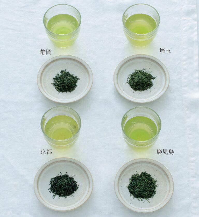 日本茶の産地