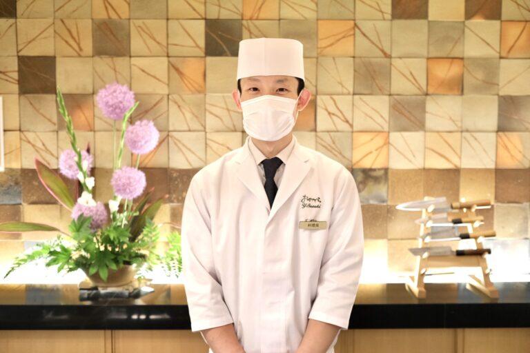料理長の鈴木芳和氏。