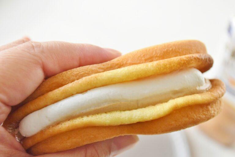 """""""練乳クリーム""""は、ミルクの濃厚な味わいだけど、くどくなくて夏にピッタリ。"""