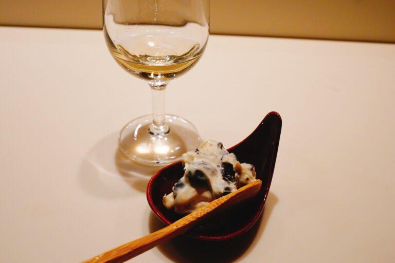 「黒豆マスカルポーネ」(単品は499円)。