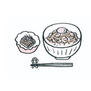 【2】ちょっとだけ手間をかけて。/牛肉、玉ねぎ、しょうがを蒸し焼きにして、ポン酢をかけて主菜に。ほうれん草をナムルに、たまごをスープにしてご飯をよそえば、立派で優雅な食事になります。