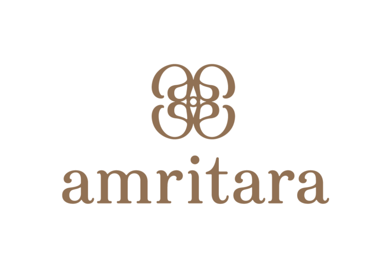 シンボルマークはブランドの頭文字「a」を4つつなげた花曼荼羅。自然、生産者、お客、ブランドの強い結びつきを表現。