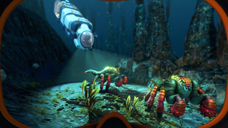 ©2020 Unknown Worlds Entertainment, Inc. SUBNAUTICA, BELOW ZEROand UNKNOWNWORLDS and the logos and designs associated therewithare trademarks of Unknown Worlds Entertainment, Inc. The SUBNAUTICA,BELOW ZERO and UNKNOWNWORLDS trademarks are Registered in the U.S.Patent and Trademark Office and in other jurisdictions. All Rights Reserved.