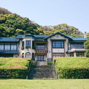 私をときめかせたこの立派なお屋敷は、かつて旧前田候爵の別荘だったそう。