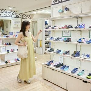 「私の靴でも受け取ってくれるんですね!」と佐藤さん。